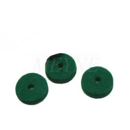 mouches en feutre vert fonc d 39 enfoncement 5 mm diff rentes quantit s au choix pianos varlet. Black Bedroom Furniture Sets. Home Design Ideas