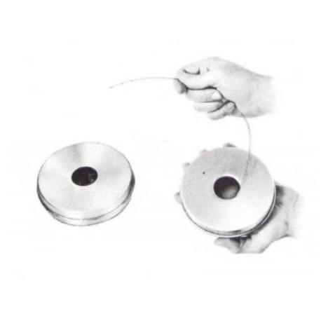 Dévidoir métallique pour cordes