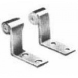 Supports de fixation de pédales 20 mm (différents diamètres de trou au choix)