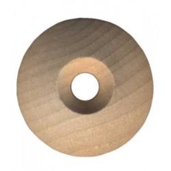Rosettes en bois pour table d'harmonie pour vis (différents diamètres au choix)