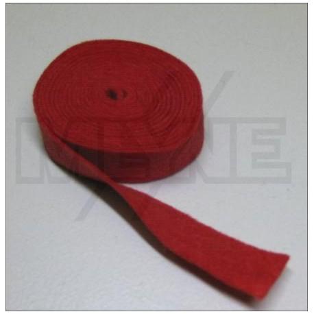 Feutre rouge de mécanique 1 mm (différents conditionnements au choix)