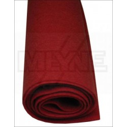 Feutre rouge de mécanique 7 mm (différents conditionnements au choix)