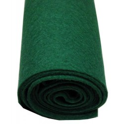 Feutre vert de mécanique 1 mm (différents conditionnements au choix)
