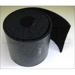 Feutre noir de mécanique autocollant 3 mm (différents conditionnements au choix)