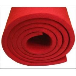 Garniture de cadre rouge sous cordes pour Steinway 9 mm (différents conditionnements au choix)