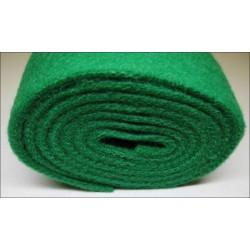 Feutre vert pour barre de repos de marteaux 10 mm (différentes découpes au choix)