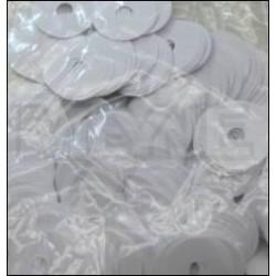Mouches en papier d'enfoncement 22 x 0,05 mm (différentes quantités au choix)