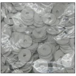 Mouches en papier d'enfoncement 22 x 0,75 mm (différentes quantités au choix)