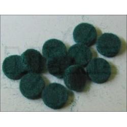 Mouches vertes de réglage de mécanique 9,5 x 2,4 mm