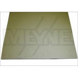 Feutre d'étouffoirs pour aigus 8 mm en plaque de 72 x 45 cm