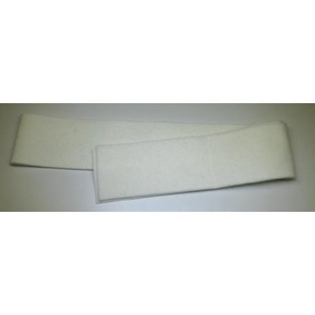 Feutre de sourdine en bande 7,5 cm (différentes épaisseurs au choix)