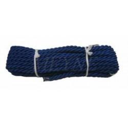 Cordelette bleue 7 mm (différentes couleurs au choix)
