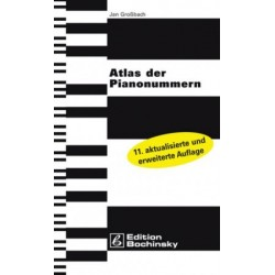 """Atlas of the piano numbers 11th edition 2009"" (en allemand)"