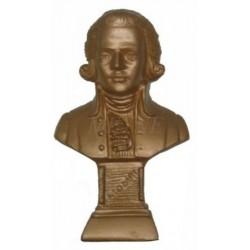 Buste Mozart 12 cm bronze