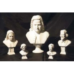 Buste Brahms 17 cm (différentes teintes au choix)