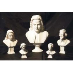Buste Mozart 31 cm (différentes teintes au choix)