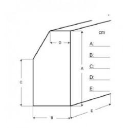 Housse de piano mat D skaï (différentes tailles au choix)