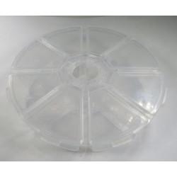 Boîte de tri 8 compartiments diamètre 10cm
