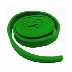 Ruban d'accord vert 4 mm (20 x 1260 mm)