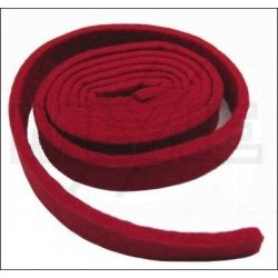 Ruban d'accord rouge 5 mm (20 x 1260 mm)