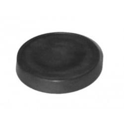 Isolateur noir en bois 90 mm Ø