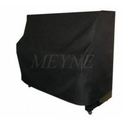 Housse de protection pour piano droit en polyacrylique noir (plusieurs dimensions au choix)