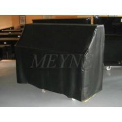 Housse de protection pour piano droit en skaï noir