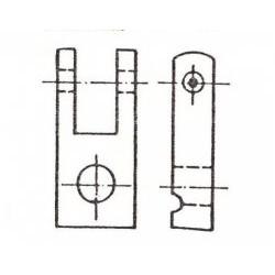 Fourches modèle standard (à l'unité ou jeu complet)