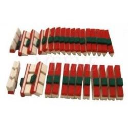Taquets d'étouffoir garnis pours basses (différentes tailles au choix)