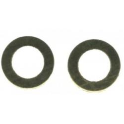 Rondelles en laiton pour agrafes 0,3 mm